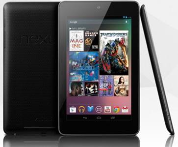 تبلت گوگل Nexus 7