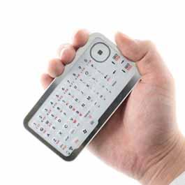 صفحه کلید بی سیم کوچک و دستی!