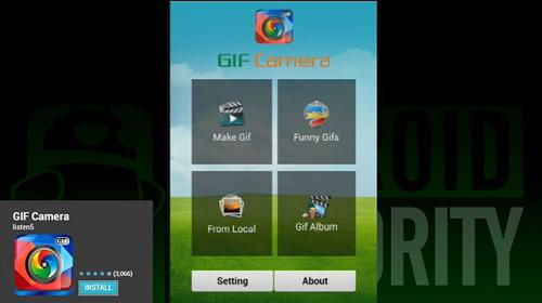نرم افزار GIF Camera