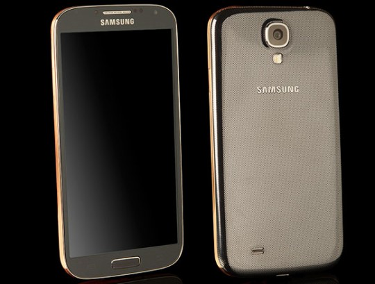 Galaxy S4 طلایی