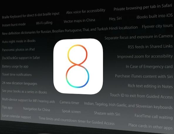 iOS-8-Features-List