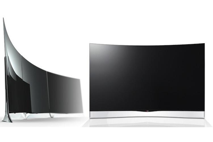تلویزیونهای خمیده 55 اینچ الجی