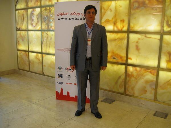 مهندس محمد رضا همتي از ارتباطات كوه نور وابسته به گروه فناوا