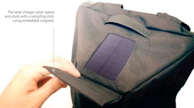 كوله پشتی، شارژر جديد گوشی های هوشمند