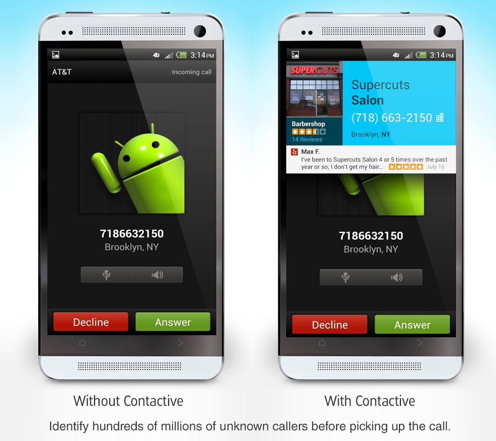 اپلیکیشن Contactive
