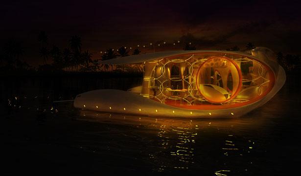 قایق ماهی شکل