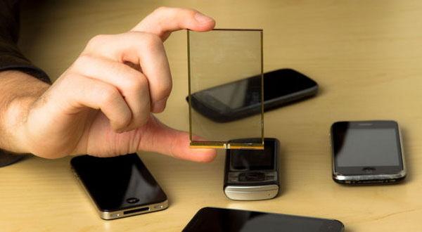 تبدیل صفحه نمایش گوشی های هوشمند به شارژر باتری با تکنولوژی Wysips