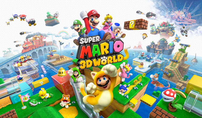 بازی Super Mario 3D World