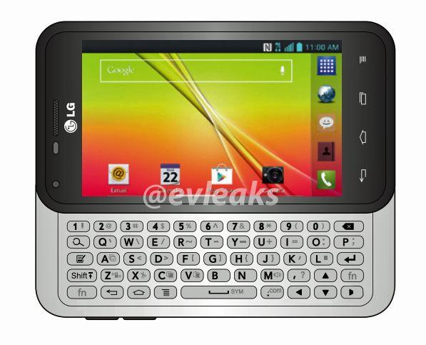 گوشی هوشمند LG Optimus F3Q