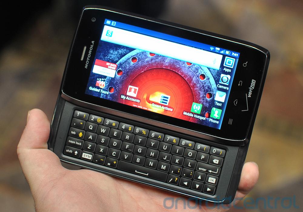 گوشی هوشمند Motorola Droid 4