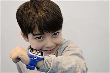 عرضه یک ساعت هوشمند جدید برای کودکان