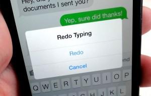 undo کردن نوشته ها