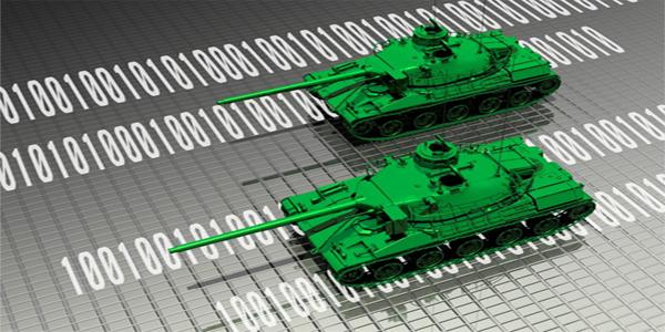 جنگ سایبری