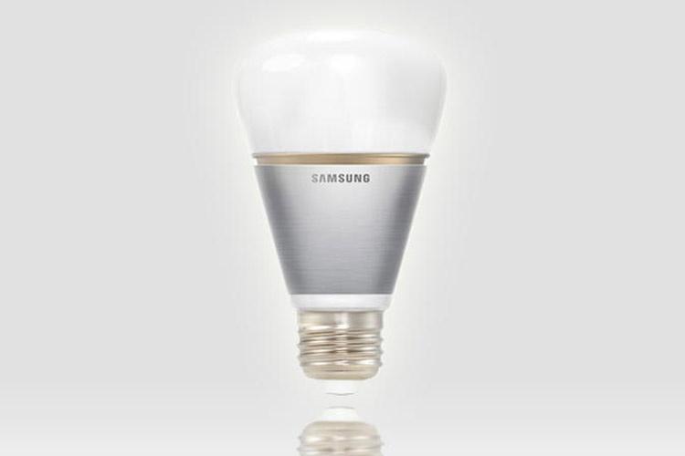 لامپ هوشمند سامسونگ مجهز به بلوتوث