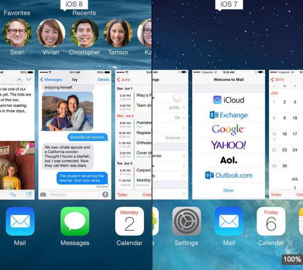سیستم عامل اپل موبایل آی او اس ۸ ios 8 apple