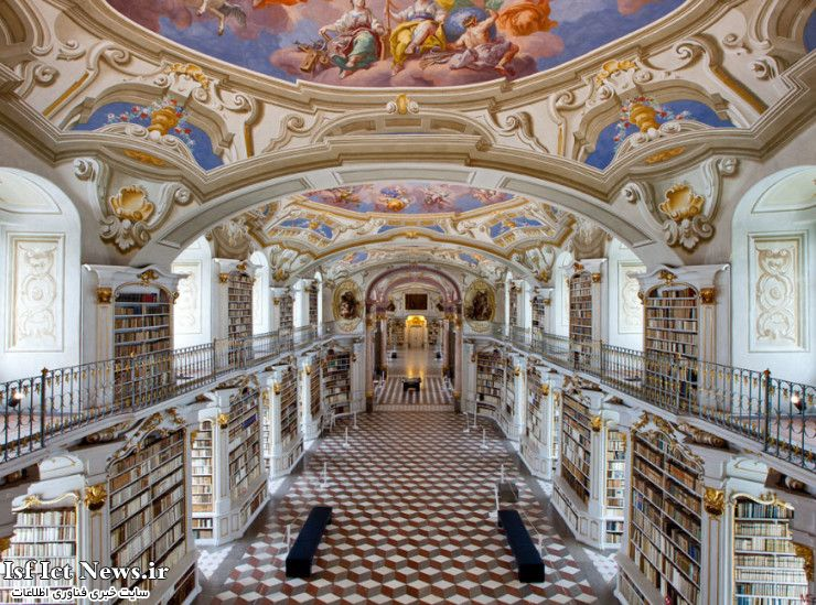 Top 10 Libraries-Admont-Photo by Marc G