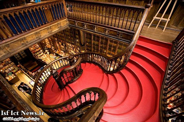Top 10 Libraries-Livraria Lello Porto3