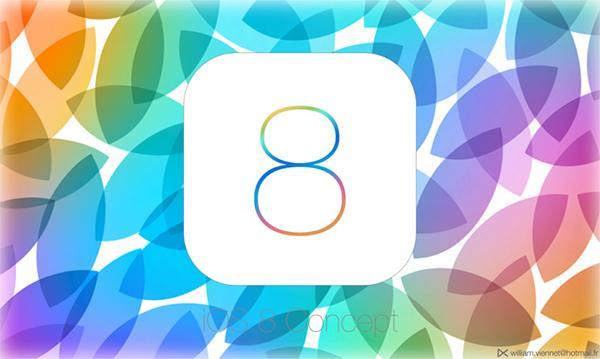 مقایسه تصویری iOS 8 و iOS 7