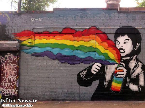 گوگل با استفاده از Street View نقاشی های خیابانی را گردآوری می کند
