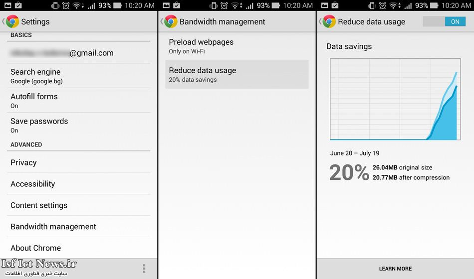 Enable-data-compression-in-Chrome