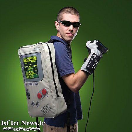با این کوله پشتی به دنیای Game Boy سفر کنید