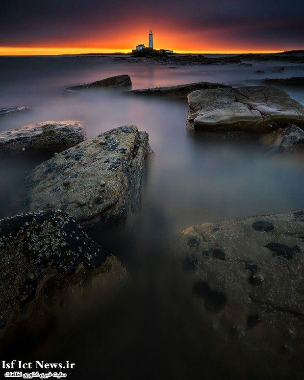 St Mary's Lighthouse, Bait Island, UK