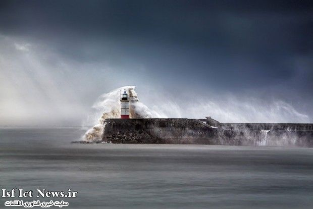 Newhaven Breakwater Lighthouse, East Sussex, England