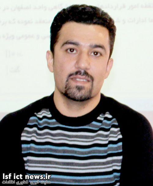 حسینی مدیرعامل شرکت عصرگویش پرداز