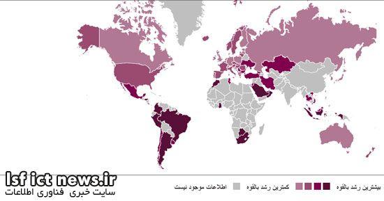 رتبهبندی کشورها با توجه به وضعیت آموزش