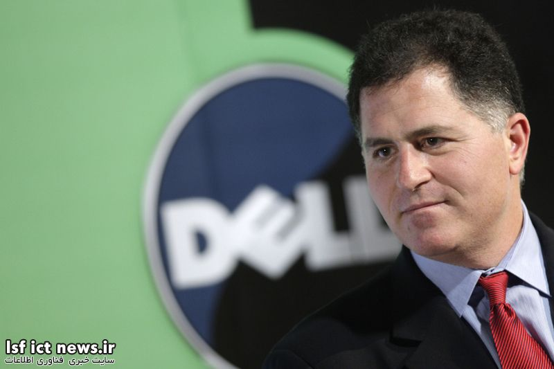 CHINA - MARCH 26:  Michael Dell, chairman of Dell Inc., speaks at a news conference in Beijing, China, on Thursday, March 26, 2009. Dell Inc., the world's second-largest maker of personal computers, will sell PCs to China's farmers, seeking to boost sales from a potential market of 800 million rural residents as the global recession eats away demand.  (Photo by Dell Rural China Push/Bloomberg via Getty Images)