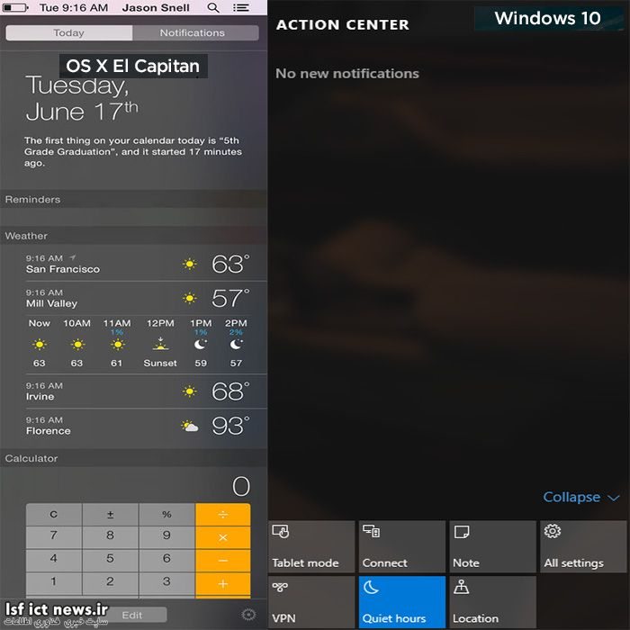 Apple El capitan VS Microsoft Windows 10 37