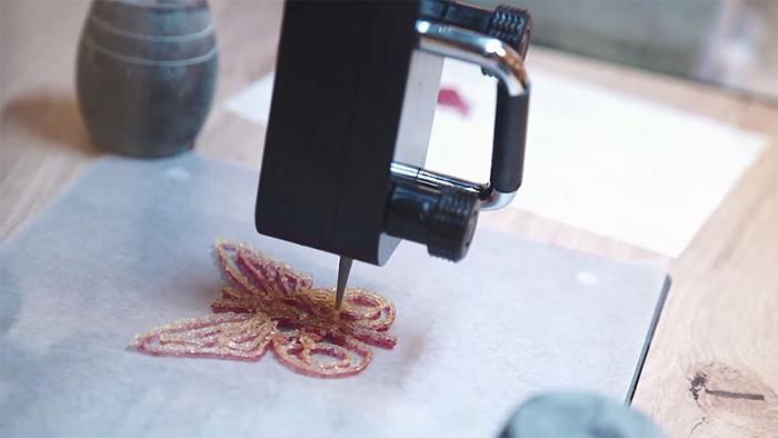 ساخت آبنباتهای پاستیلی به کمک چاپگر سه بعدی