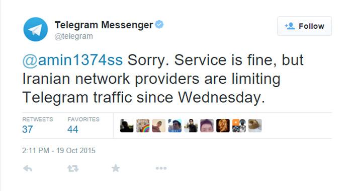 telegram tweet